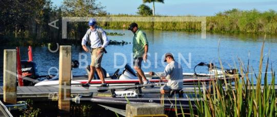 Bass Fishing, Photography, Bob Burns
