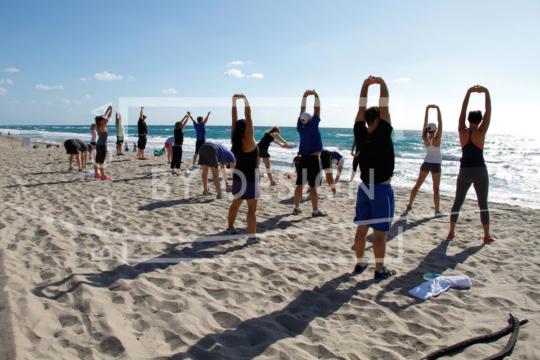 Beach Fitness, Photography, Creative Focus