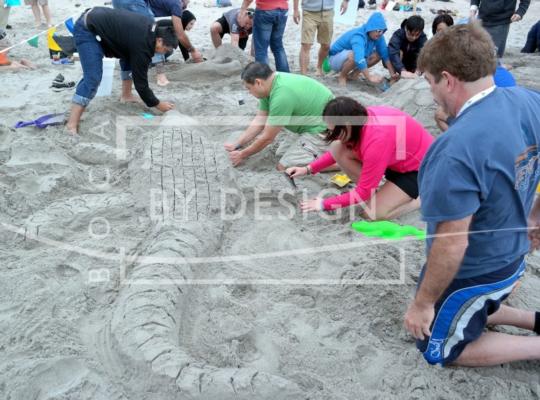 Sand Sculpture, Photography, Waquine