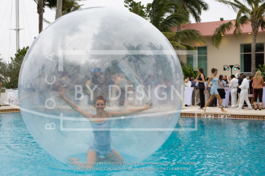 Lady in the Bubble,