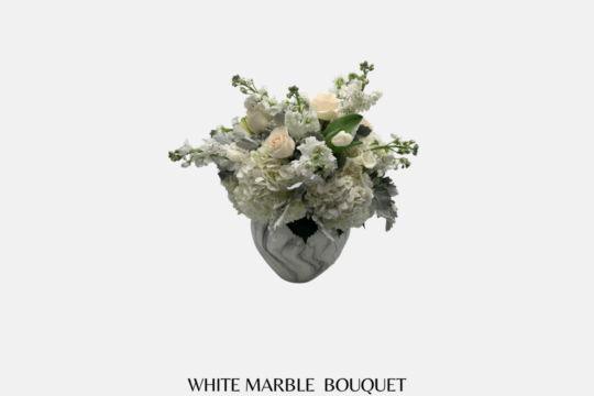 White Marble Bouquet